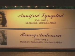 Gothenburg:  Sweden:      ABBA hand prints