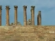 Ancient columns of the Temple of Artemis (约旦)