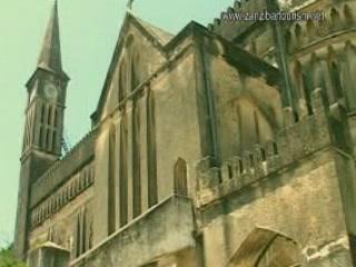 ザンジバルシティ:  ザンジバル諸島:  タンザニア:      Anglican Cathedral in Zanzibar