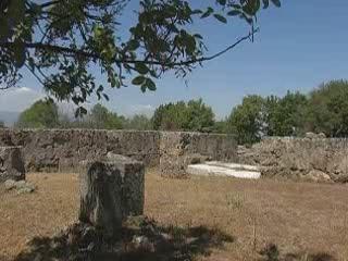 Vergina:  Halkidiki:  Greece:      Archaeological Museum of Vergina