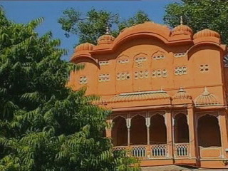 Джайпур:  Раджастхан:  Индия:      Архитектура Джайпура