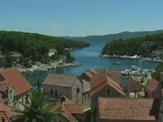Vrboska:  Hvar island :  Croatia:      Architecture of Vrboska