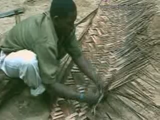 ザンジバル諸島:  タンザニア:      Art of weaving in Zanzibar