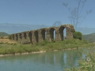Serik:  Antalya:  トルコ:      Aspendos Aqueducts