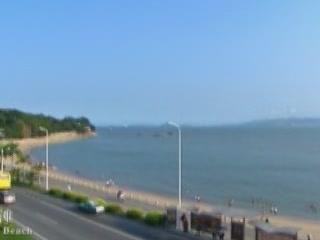厦门市:  中国:      Baicheng Beach