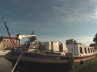 Bourgogne:  France:      Barge Alouette