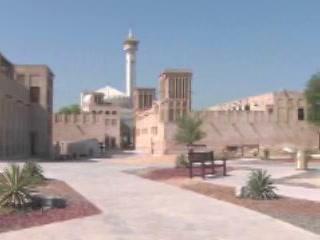 Dubai:  United Arab Emirates:      Bastakiya Neighborhood