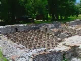 Dion, Pieria:  ギリシャ:      Baths in Dion