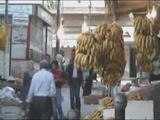 Ирбид:  Иордания:      Базар в Ирбиде