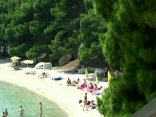 Bol:  ブラチ島:  クロアチア:      Beach Bol