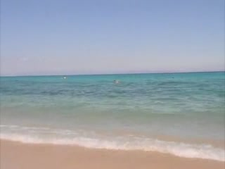 Kassandra:  Halkidiki:  Greece:      Beach in Chaniotis