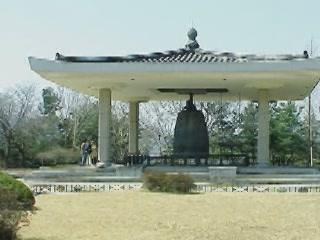 Gyeongju:  South Korea:      Bell of King Seongdeok