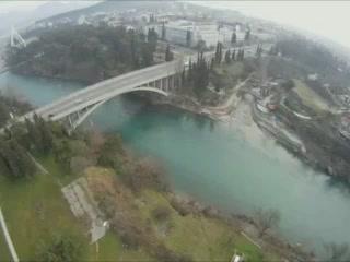 الجبل_الأسود:  بودغوريتشا:      Blažo Jovanović Bridge