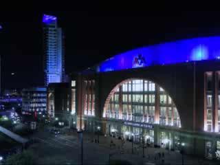 Dallas:  Texas:  United States:      Blue Lights of Dallas
