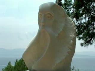 ブラチ島:  クロアチア:      Brač stone