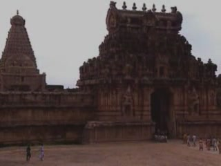 Tamil Nadu:  India:      Brihadeeswarar Temple