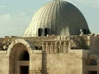 Амман:  Иордания:      Византийская церковь в Цитадели Аммана