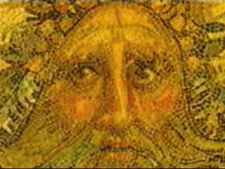 利比亚:      Byzantine mosaic in Cyrenaica
