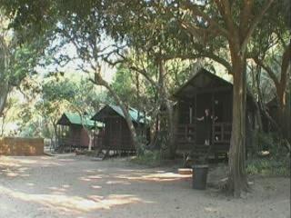 Ponta do Ouro:  モザンビーク:      Camping Parque de Malongane