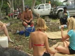東ティモール:      Camping