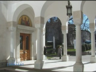 Yalta:  Crimea:  Ukraine:      Church of the Exaltation of the Holy Cross