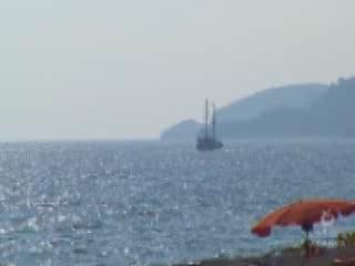 阿拉尼亚:  土耳其:      Cleopatra Beach in Alanya