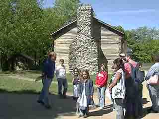 Conner Prairie Interactive History Park video. Get the Adobe Flash