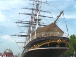 London:  Great Britain:      Cutty Sark