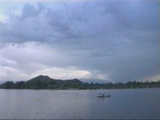 ジャンムー・カシミール州:  インド:      Dal Lake in Kashmir