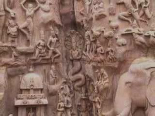 Mahabalipuram:  泰米尔纳德邦:  印度:      Descent of the Ganges