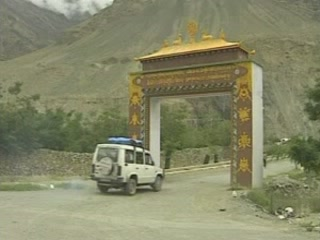 Spiti Valley:  Himachal Pradesh:  India:      Dhankar Gompa