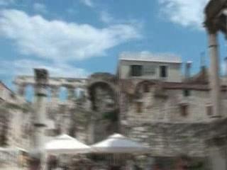 Split, Croatia:  Croatia:      Diocletian's Palace