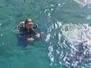 Kash:  Antalya:  Turkey:      Diving in Kash