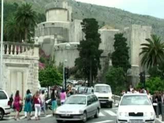 ドゥブロヴニク:  クロアチア:      Dubrovnik Old Town