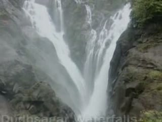 Goa, state:  India:      Dudhsagar Falls