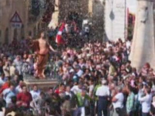 Images Easter Sunday Processions in Malta ethnographic