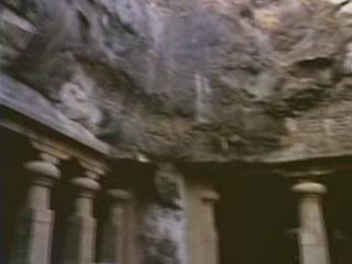 Maharashtra:  India:      Elephanta Caves