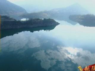 Китай:       Водохранилище Эрлонгшан