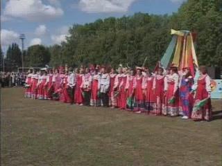 オムスク州:  ロシア:      Fair in Znamenskoye