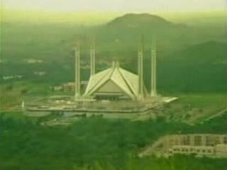 イスラマバード:  パキスタン:      ファイサル・モスク