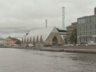 ヨーテボリ:  スウェーデン:      Feskekôrka, Fish Church