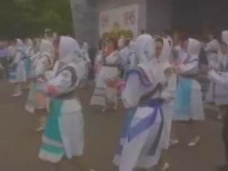 Respublika Mariy-El:  Russia:      Folk Dancing in Mari El