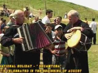 Adjara:  Georgia:      Folk festival Shuamtoba