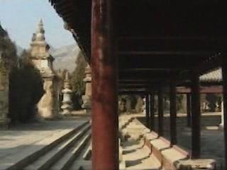 Цзинань:  Китай:      Пагода четырех ворот