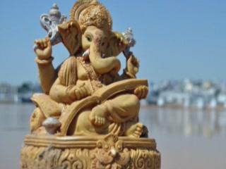 Джайпур:  Раджастхан:  Индия:      Храм Ганеши в Джайпуре