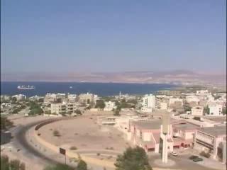 Aqaba:  Jordan:      Golf von Aqaba