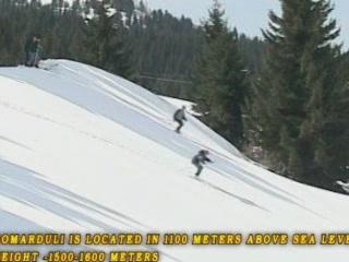 Adjara:  Georgia:      Gomarduli, ski resort
