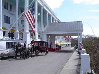 Mackinac Island:  Michigan:  United States:  