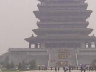 山西省:  中国:      Stork / Guanque Lou Tower