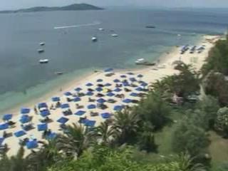 哈爾基季基州:  希腊:      Halkidiki beaches
